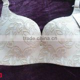 Lace Covered Seamless Bra