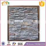 Factory Custom made best home decoration gift polyresin resin slate wall cladding decoration stone paneling