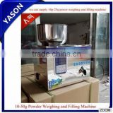 Automatic tea/powder weighing and packaging machine,grain medicine powder filling machine 1-25g