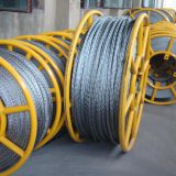 Anti-twisting Braided Wire Rope