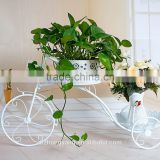 good quality custom tricycle metal plant pot stand,bicycle flower stand