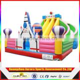 Hot Commercial Air spacecraft inflatable water slide for kids and adults , Inflatable Pool Slide from Professional Manufacturer