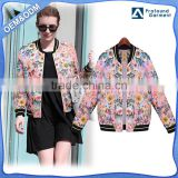 heated girls designer windbreaker sublimation baseball custom mesh women bomber jacket model 2015 winter 2016