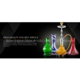 large hand blown Glass hookah base and hookah sets