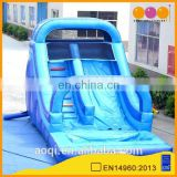 AOQI products water slide for pool inflatable with free EN14960 certificate