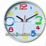 funny cartoon number wall clock for kids,decoration wall clock