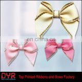 Wholesale Gold Purl Ribbon Bows for Garments with good price