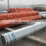 ASTM A53/A500, BS 1387-Hot Dipped Galvanized Steel Pipe -Threaded, Coulping, PVC cap