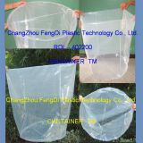 200 liters Polyethylene round bottom drum liner