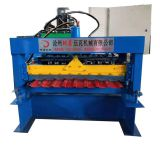 Building Material Trapezoidal Metal Roof Sheet Roll Forming Machine