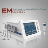 Acoustic radial shock wave therapy machine with EMS for physiotherapy