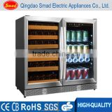 56 standard bottles Frost-free Multi-Zone Side-by-side built-in wine cooler                                                                                                         Supplier's Choice
