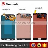 New for samsung galaxy note 3 note 4 LCD,for samsung galaxy note 2 n7100 lcd touch screen