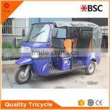 High Efficiency enclosed bajaj 3 wheel motorcycles