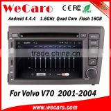 Wecaro WC-VL7060 Android 4.4.4 car stereo 2 din for volvo v70 car dvd player radio gps 1080p 2001-2004                                                                         Quality Choice