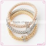 New European Style Exaggerated Gold /Silver Metal Bracelet Fine Jewelry Set