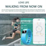 Hot !!! High Quality TW64 Bluetooth 4.0 Sport Smartband Smart Watch Waterproof Passometer Sleep Tracker For IOS Android