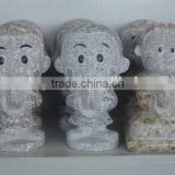 cheap granite small stone cartoon sculpture hot sale