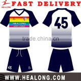 Sublimation Teamwear Sportswear Tracksuit Football Shirt Maker Soccer Jersey Uniform