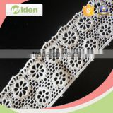 Sequence lace fabric honeycomb web floral pattern chemical lace                                                                                                         Supplier's Choice