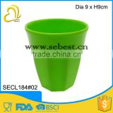 "3.5"" best quality melamine greed round shape mixing cup"