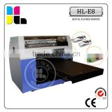 eco solvent printing machine,colorful digital printer with 8 color,DIY printing machine for sale