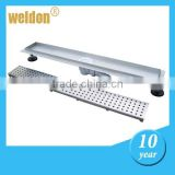 Stainless steel trench drain shower base /concrete drain channel