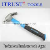 Carbon Steel Blue Fiber Handle Claw Hammer HM1020