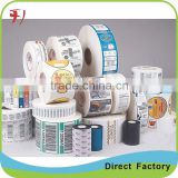 Printing Custom Self Adhesive Logo Stickers,Custom Adhesive Waterproof Sticker Labels,Private Label Skincare Products