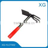 Fordged steel garden digging tools fork hoe rotary hoe