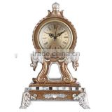 new Hot Art Vintage resin table clock for wedding decoration goods
