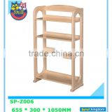 Cheap price wooden storage shelf with box for keeping books ,flower,clothes,profiles#SP-Z006