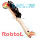 Steel Wire Brush with Wooden Hadle(itemID:QIAB)-Mary