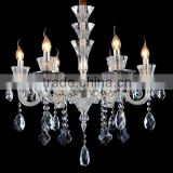 Modern Lamparas Decorative Crystal Glass Hanging Chandelier Lamps Lights and Lightings CZ5017/6