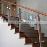 Aluminum alloy handrail fitting,handrail for stairs,interior stair handrails