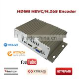Single channelh.265 HD streaming Encoder hevc encoder for iptv solution