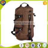 2016 New Trendy Vintage Waxed Canvas Backpack