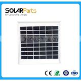 200W clear solar panel low iron tempered glass in high quality