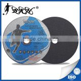 4 1/2 inch 115mm abrasives cutting discs for metal/steel/stainless steel with mpa en12413