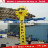 Custom made inflatable sun sky dancer , advertising air dancer for promotion