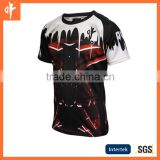 Men's sublimation rugby shirt,baseball uniforms,running,playing,training shirt suits