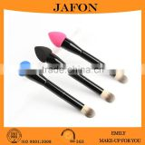 New Fashion Double Ends Blending Foundation Brush Sponge Buffer Puff