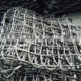 Wire Rope net for lifting bulk cargos /steel wire rope net for crane