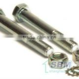 Titanium Nuts and Bolts (Fastener Wholesale; Provide Grade:2 4.8 5 8.8 10.9 12.9 )