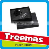 Hat paper gift box with magnet customized box packaging for USB flash disk supplier in Guangzhou China