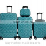 ABS Trolley Luggage for Business and Travel PC Trolley Set 20'' 24'' 28''
