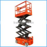 Environment-friend compact scissor lift, safe reliable scissor boom lift, hydraulic scissor lift for hire