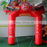 Durable Inflatable Archway / Unique Design Outdoor Finish Line Advertising Inflatable Arch / inflatable finish line arch