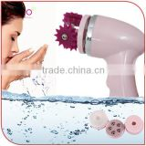 Waterproof 3D Face-lift Facial Cleansing Massage with 4 heads