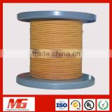 iso ul approved high quality electric motor fiber glass covered copper coil wire